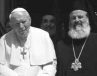 Jan Pawe?? II i Arcybiskup Chritodoulos