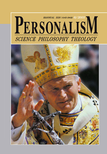 Personalizm - Science, Philosophy, Theology